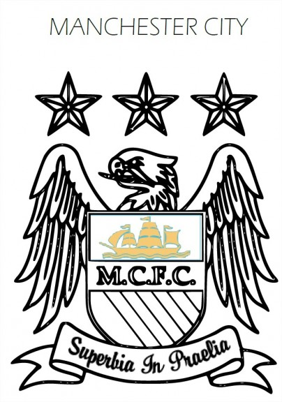 Coloriage Manchester City FC