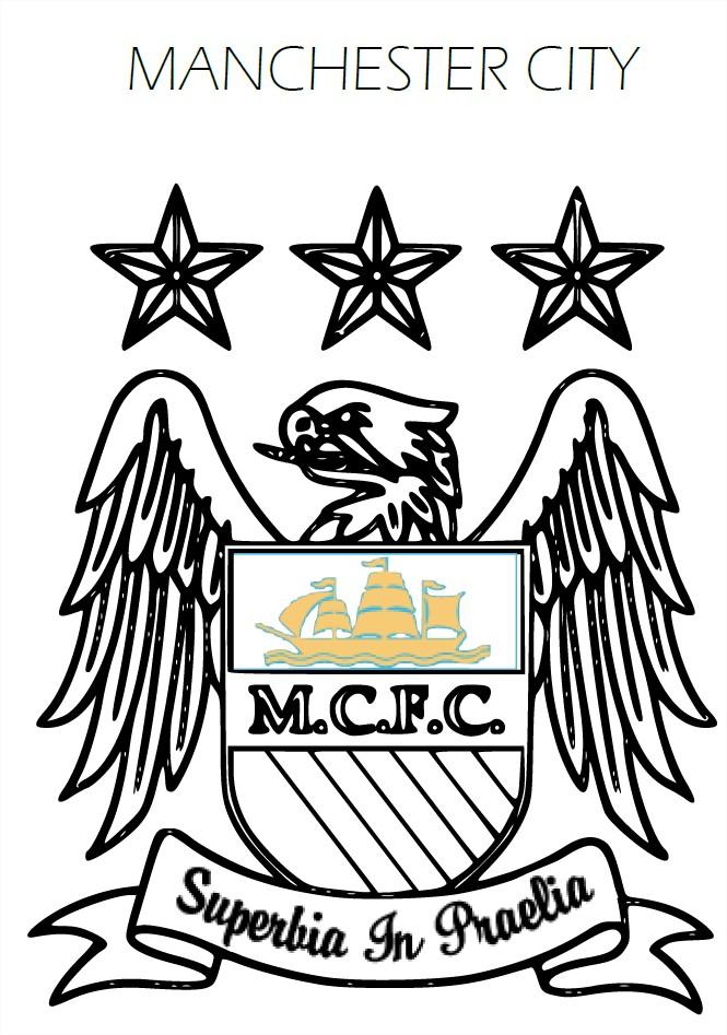 Coloriage Manchester City FC