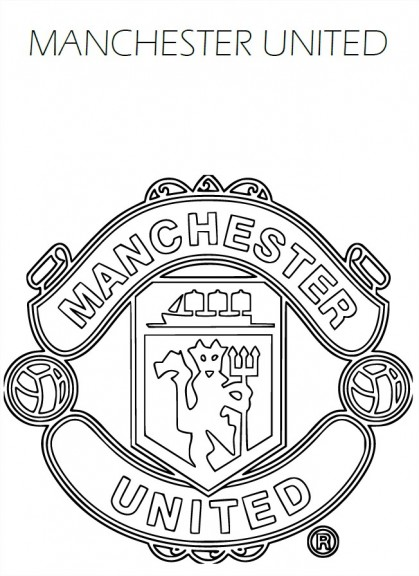 Coloriage Manchester United FC