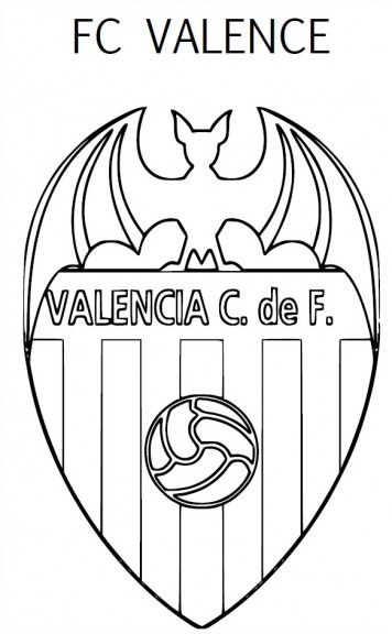 Coloriage Valence CF