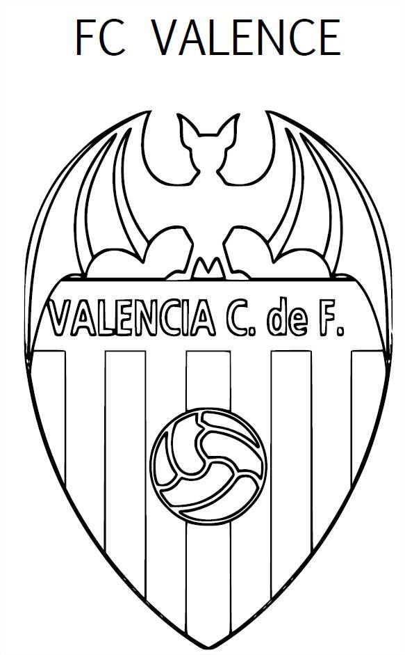 Coloriage Valence CF