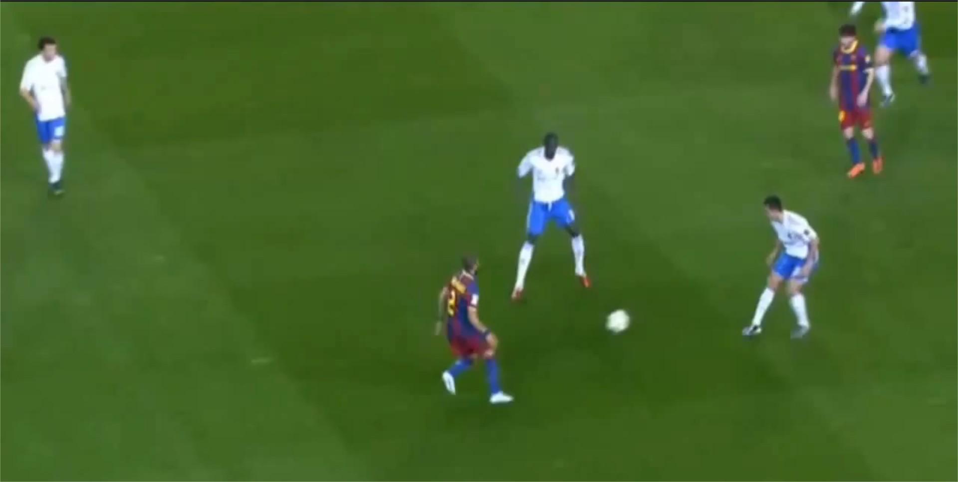 FC Barcelone passe