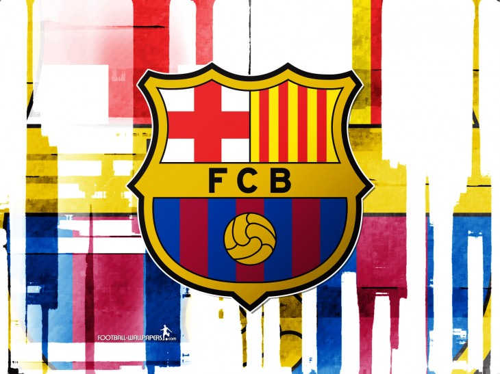 Coloriage Football Fcb.Blason Fc Barcelone Coloriage Fc Barcelone A Imprimer Et Colorier