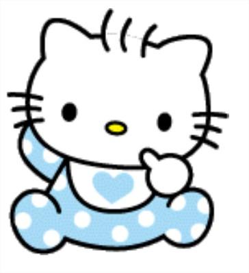 Hello Kitty bébé