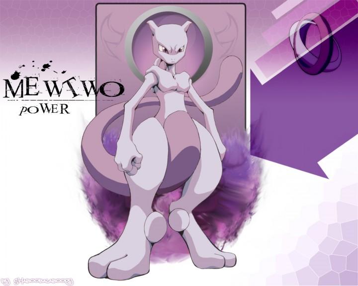 Mewtwo fond d'écran