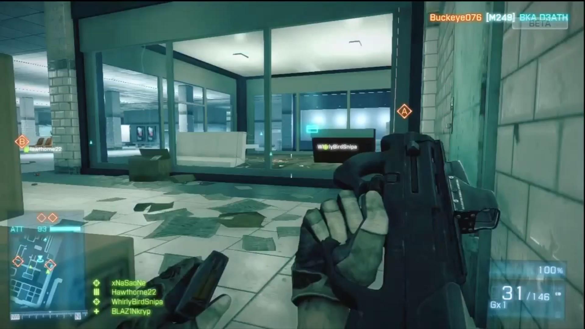 Recharge arme Battlefield 3