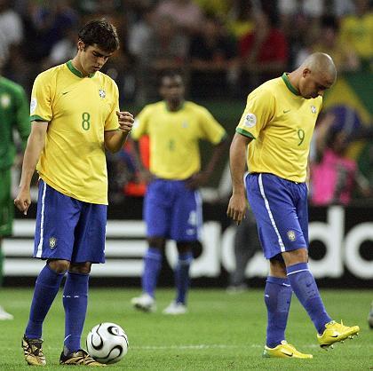 Tenue bresil Kaka Ronaldo