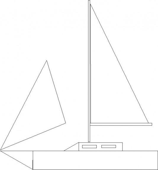 Triangles pour les voiles