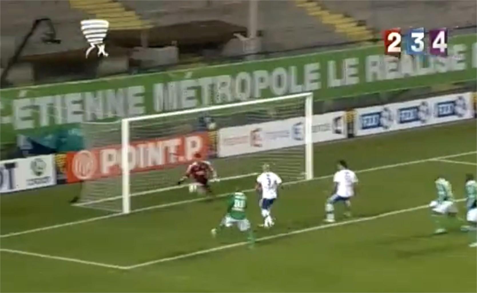 Victoire Lyon Saint Etienne coupe de la ligue 2011