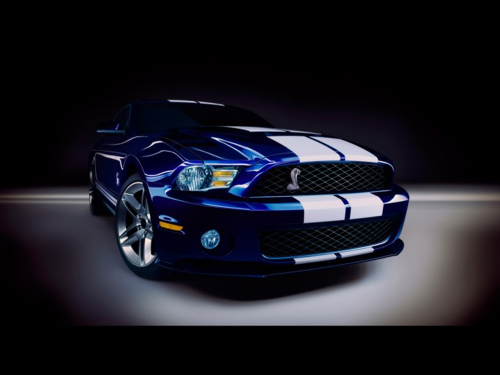 Wallpaper Mustang shelby gt 500