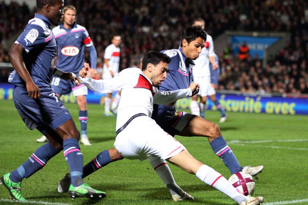 Bordeaux contre Paris Pastore