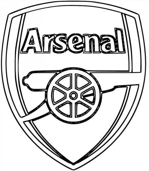 Coloriage Arsenal