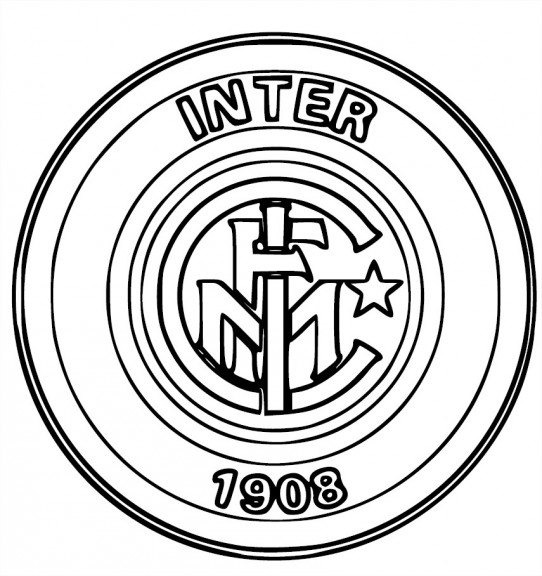 Kleurplaat Juventus Logo Blason Inter Milan Coloriage Inter Milan 224 Imprimer