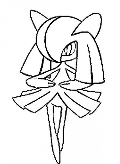 Coloriage Kirlia