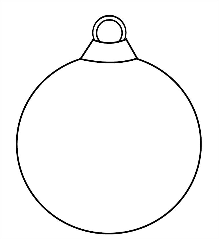 Boule no l d coration - Images boules de noel a colorier ...