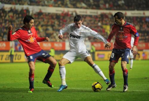 Cristiano Ronaldo contre Osasuna 2011