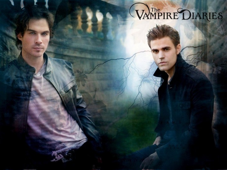 Damon et Stefan Salvatore Wallpaper