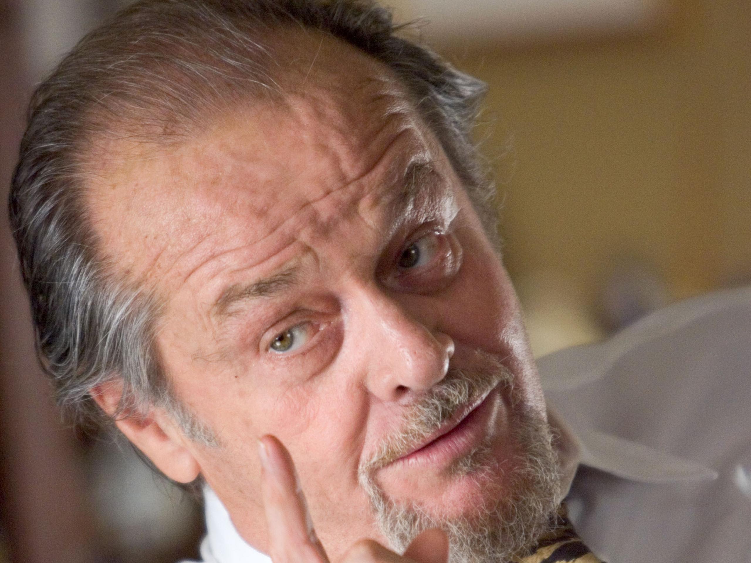Jack Nicholson visage