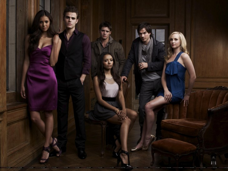 Personnages Vampire Diaries wallpaper