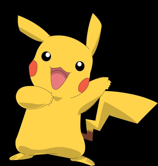 Pikachu heureux