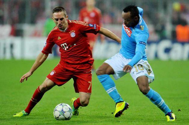 Ribery contre Naples