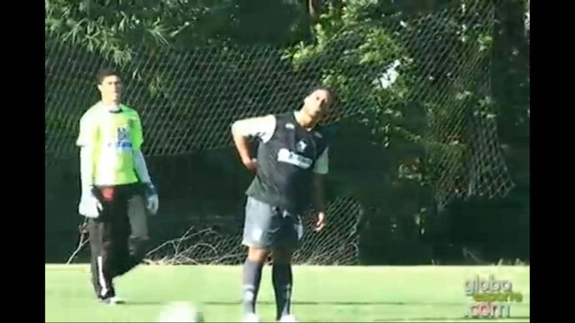 Ronaldinho Flamengo entrainement