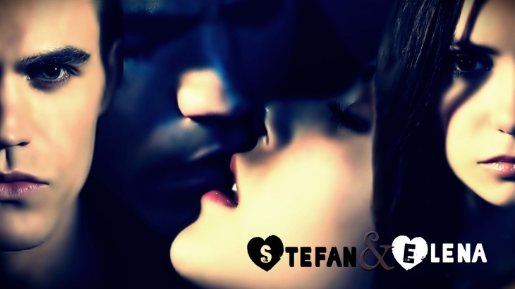 Stefan Elena s'embrasse wallpaper