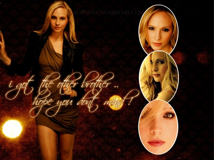 Vampire Diaries Caroline Wallpaper