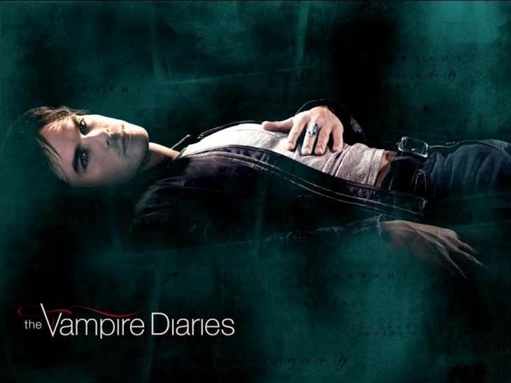 Vampire Diaries Damon Wallpaper