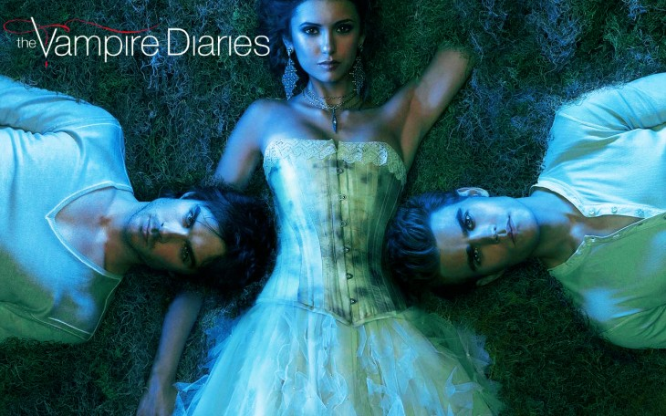 Vampire Diaries wallpaper série tv