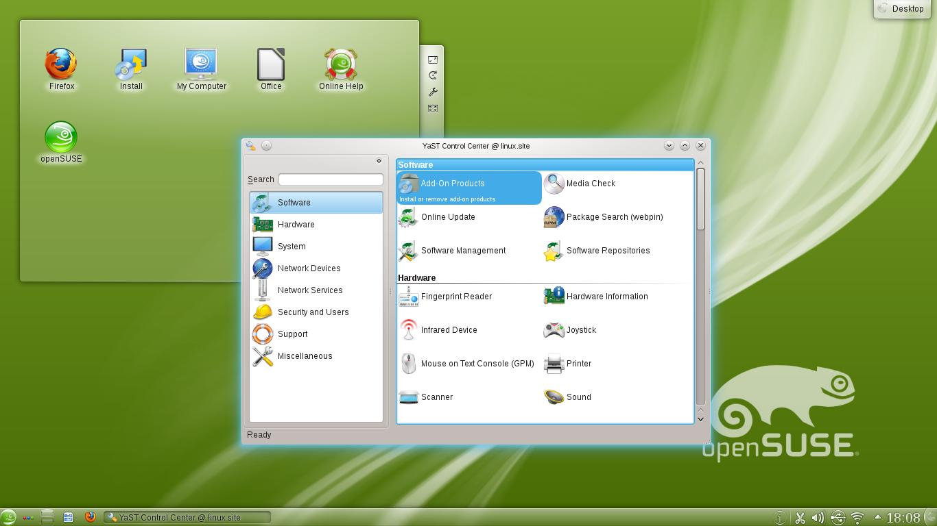 Yast OpenSuse 12