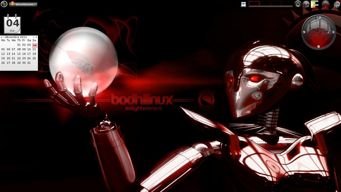 Bodhi Linux bureau sublime