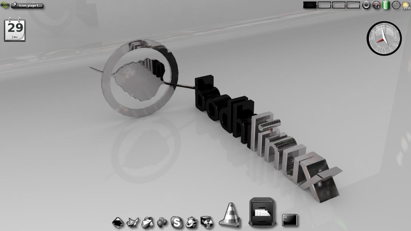 Bodhi Linux métal