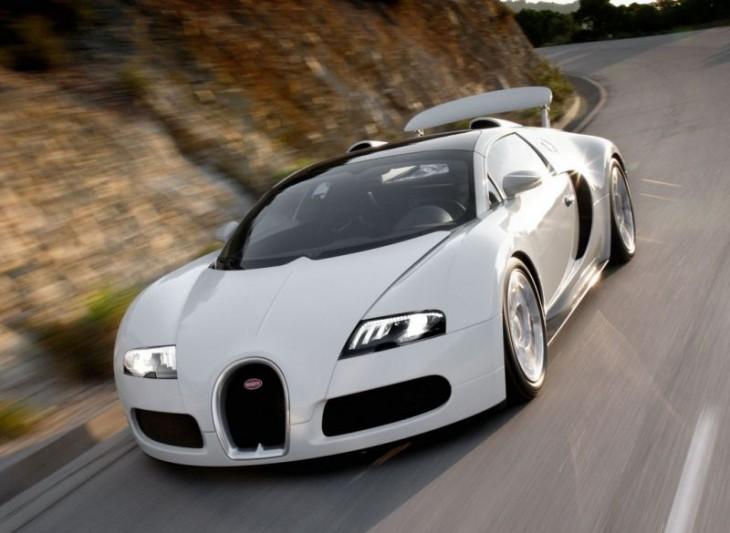 Bugatti Veyron blanche