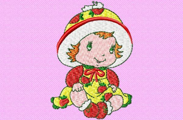 Charlotte aux fraises bébé