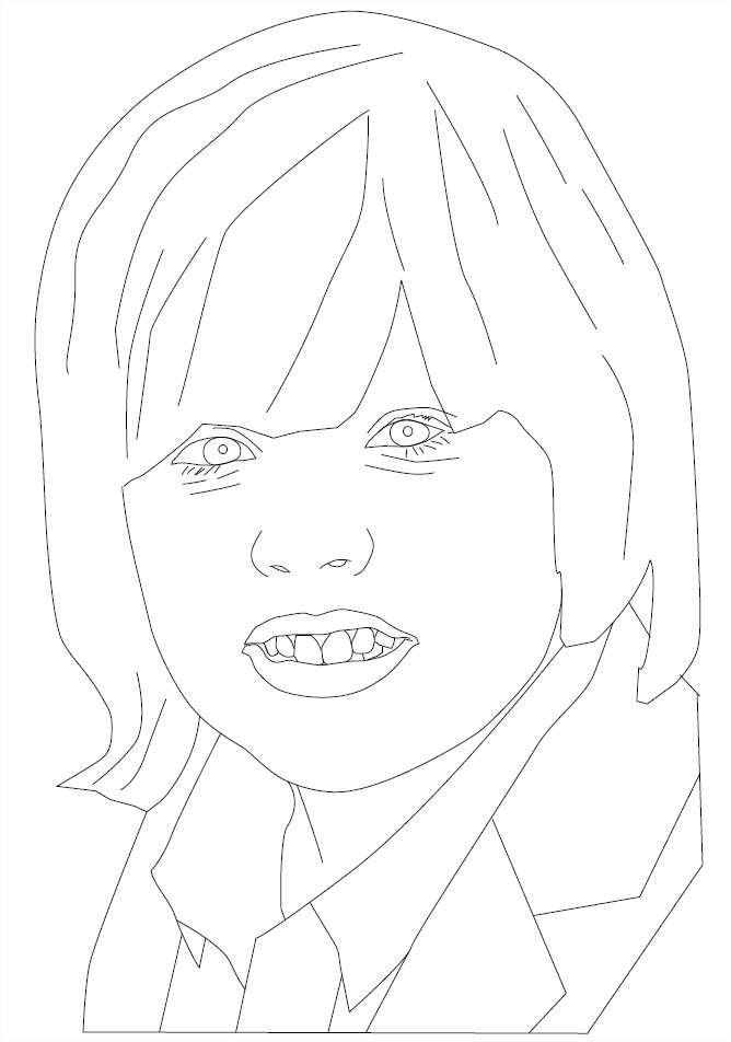 Coloriage Dylan Sprouse