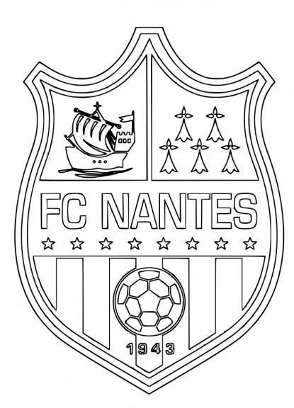 Blason Fc Nantes Coloriage Fc Nantes 224 Imprimer