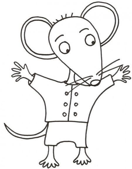 coloriage mimi la petite souris imprimer et colorier. Black Bedroom Furniture Sets. Home Design Ideas
