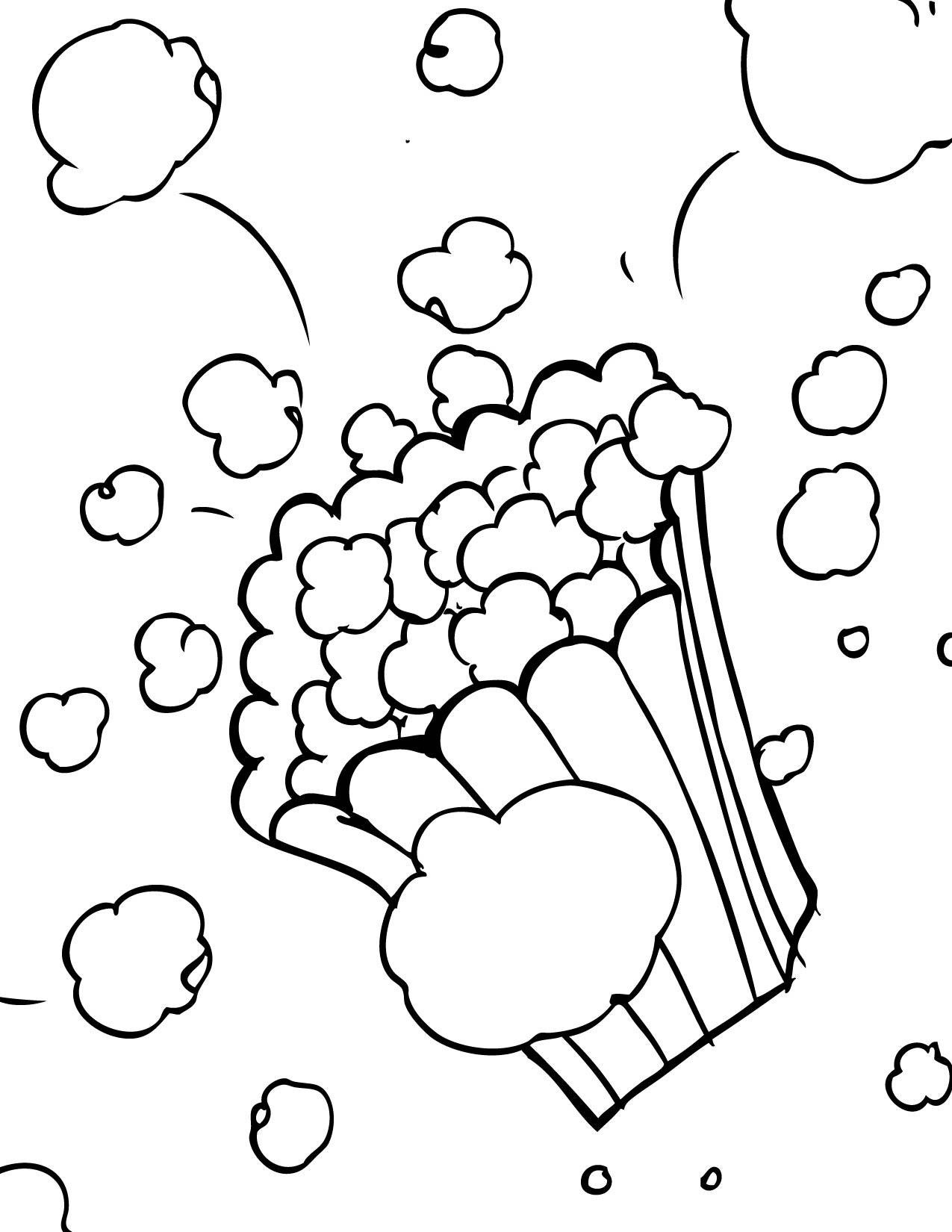 Coloriage PopCorn