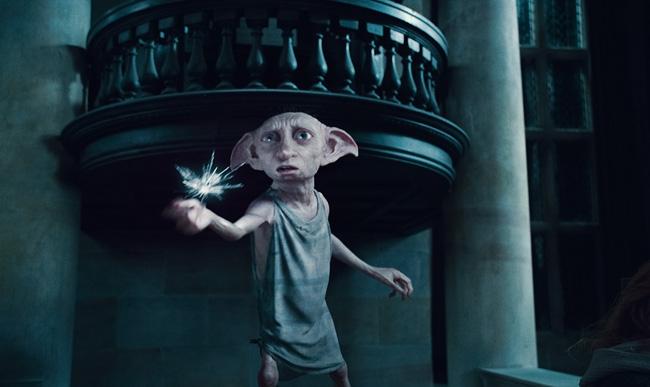 Dobby : Coloriage Dobby Elfe de maison à imprimer et colorier