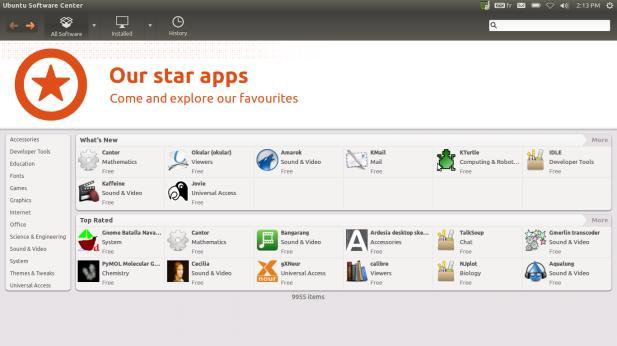 Installer logiciel Ubuntu