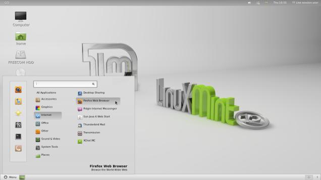 Lancer logiciel sur mint