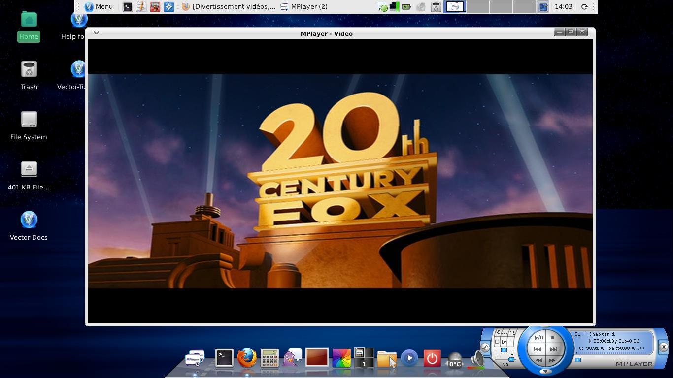 Lire dvd Vectorlinux 7