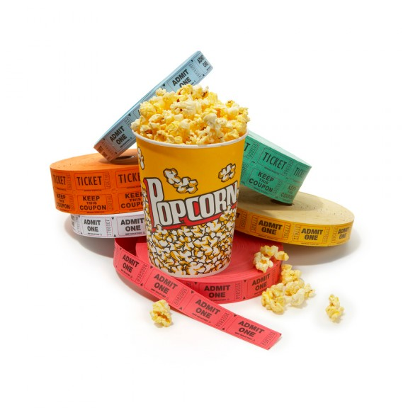Popcorn au cinema