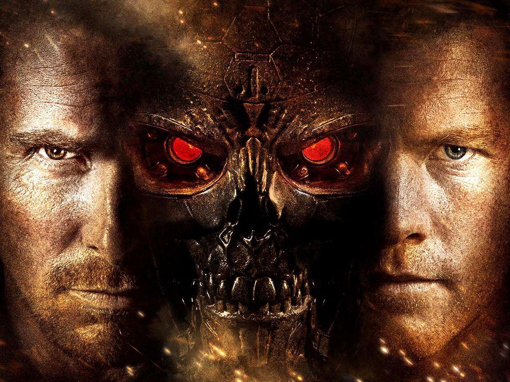 Terminator Renaissance fond d'écran