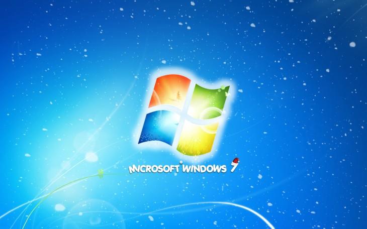 Windows 7 noel wallpaper hd