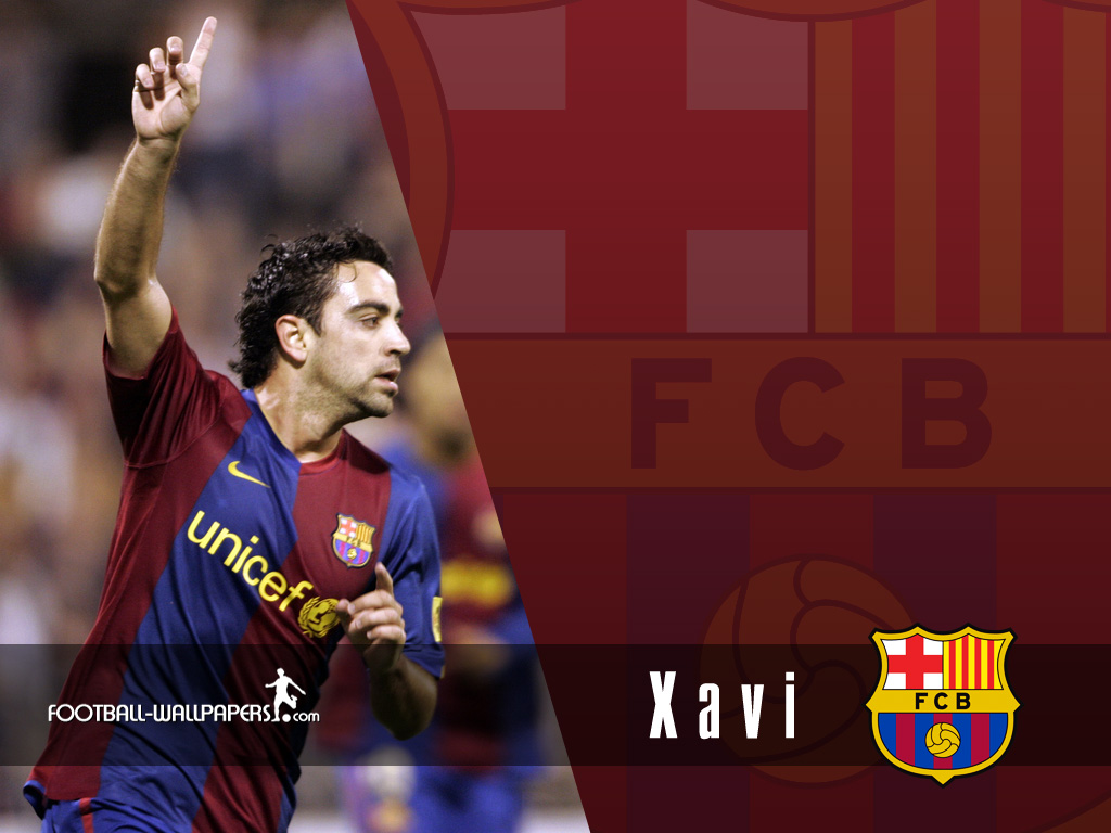 Xavi Barcelone Wallpaper 2011