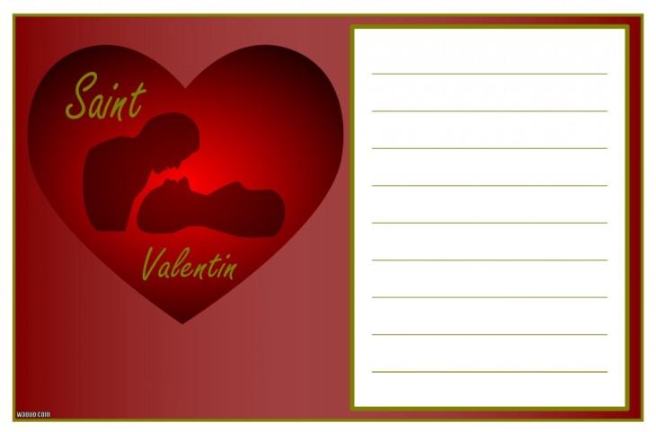 Carte saint valentin gratuite imprimer - Carte st valentin gratuite a imprimer ...