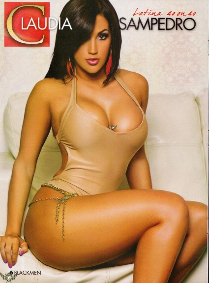 Claudia Sampedro hot