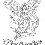Coloriage Bloom Believix Winx